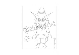 Dibujos para colorear - Alnio